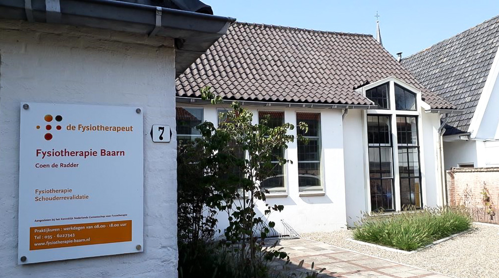 Fysiotherapie Kapelstraat Coen de Radder Piet van der Bas schouder